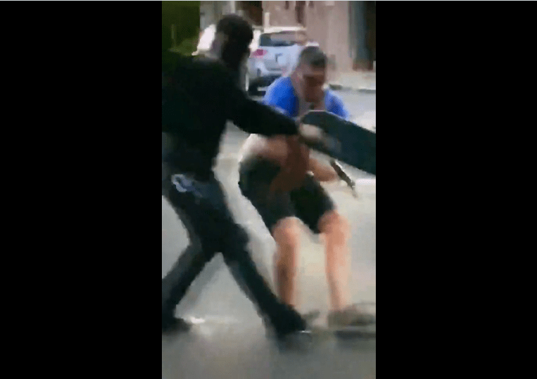 Albuquerque New Mexico Museum – Antifa Man shot as New Mexico protesters try to tear down Spanish conqueror's statue