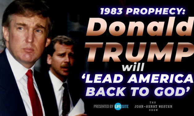 President Trump will 'lead America back to God,' according to 1983 prophecy