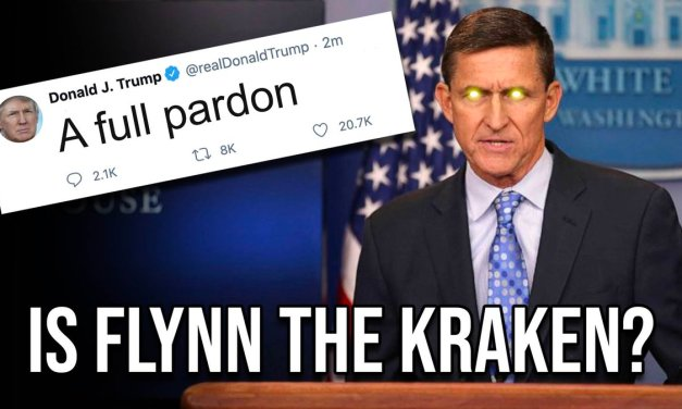 """BLOCKBUSTER!: Michael Flynn's first interview since Presidential pardon along with General McInerney and Mary Fanning revealing what """"The Kraken"""" actually is!"""