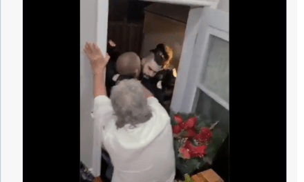 There were six people in a house in Gatineau, Canada. A neighbor snitched. Police went in, Gestapo style. Assaulting citizens.