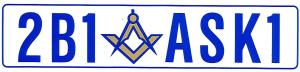 To become a Mason ask a Mason