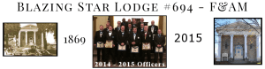 Blazing Star Lodge #694 Free and Accepted Masons