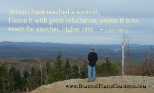 Reach for a higher summit