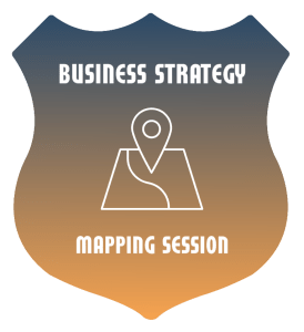 Register for a Business Strategy Mapping Session, Self-paced prep-course to create your business plan, two-hour strategy session, personalized action plan