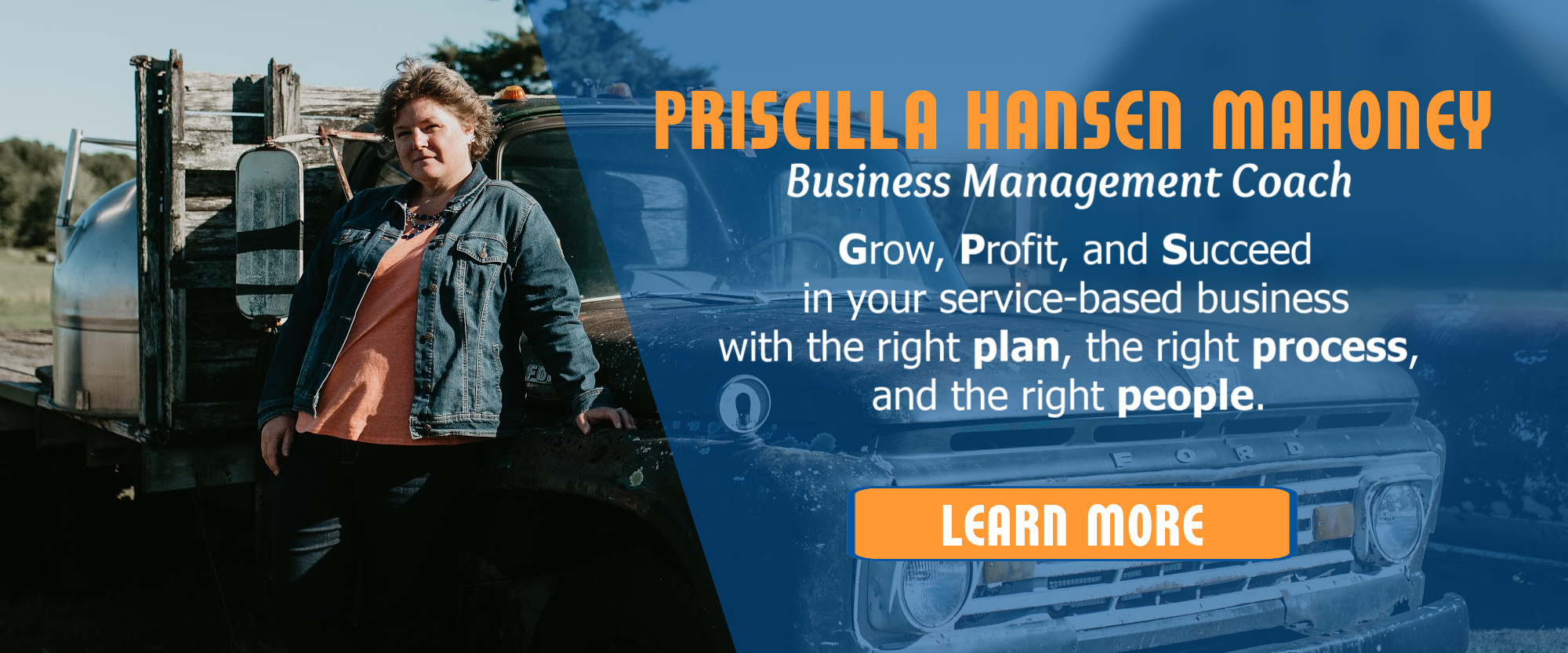 Priscilla Hansen Mahoney, Business Management Coach, Business Consultant, Business Coach South Portland Maine