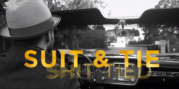 "New Video: Justin Timberlake Ft. Jay-Z ""Suit & Tie"" (Official Lyric Video)"