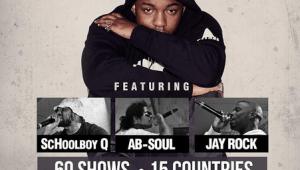 News: Kendrick Lamar GKMC World Tour Dates