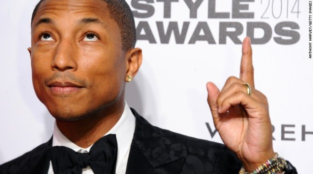 Pharrell Williams awarded Hollywood Star