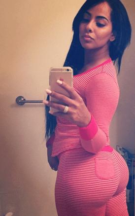 Ayisha Diaz in Black side shot