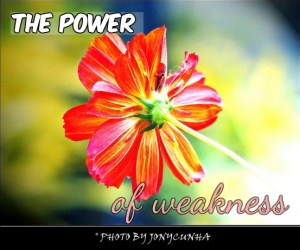 Power of Weakness