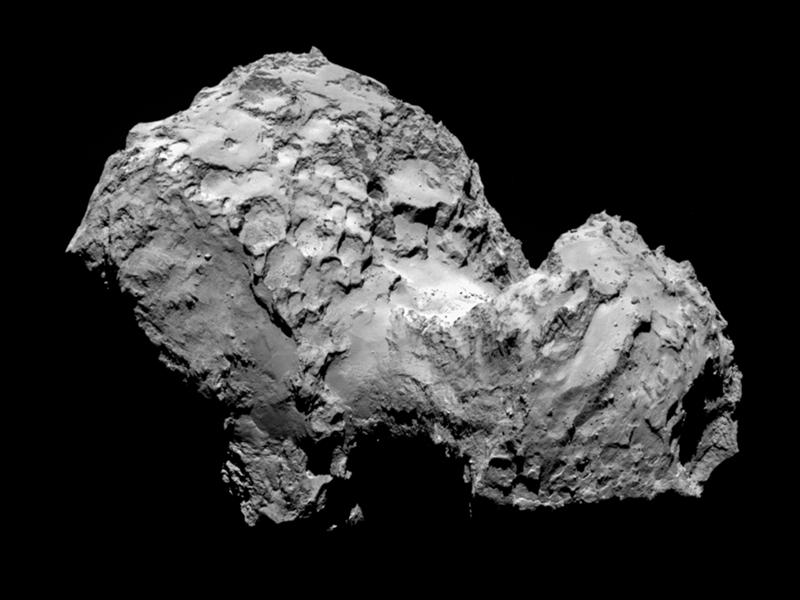 The Comet as Landscape Art