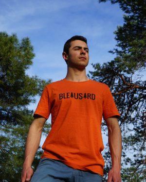 Bleausard_HOMME_Tshirt_essential_orange_victor_1