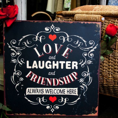 Love Laughter Friendship