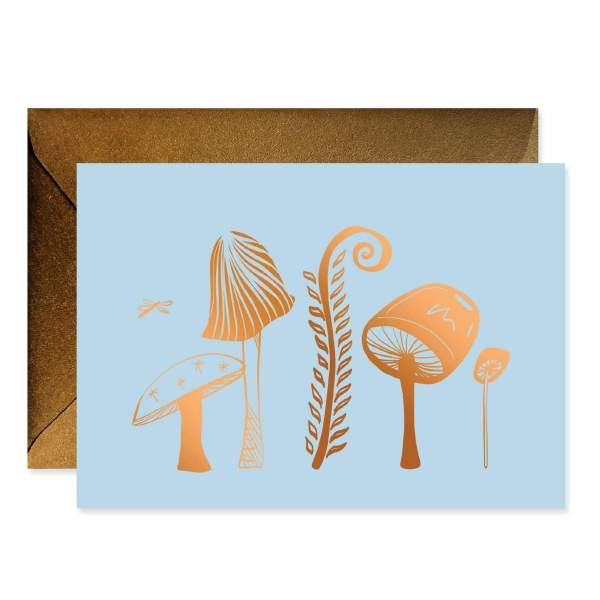 Enchanted Mushroom Garden Stationery