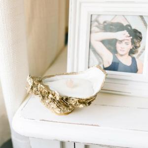Oyster Shell Candle - Lavender