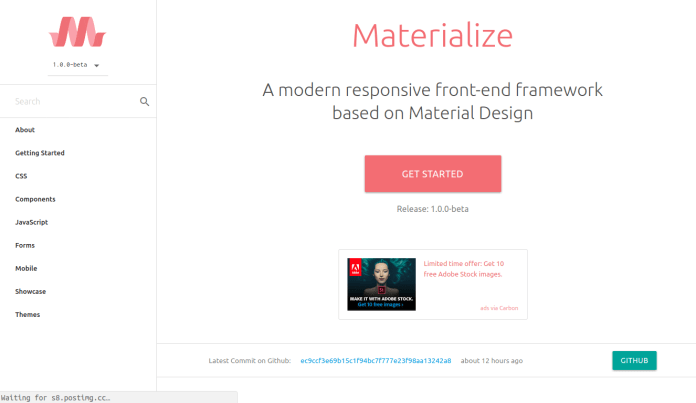 Materialize image