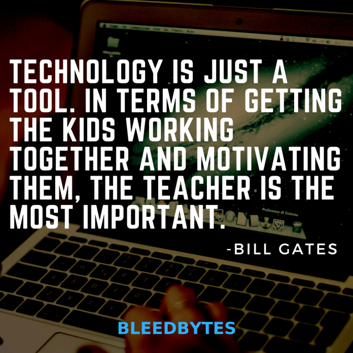 bill gates quotes on technology