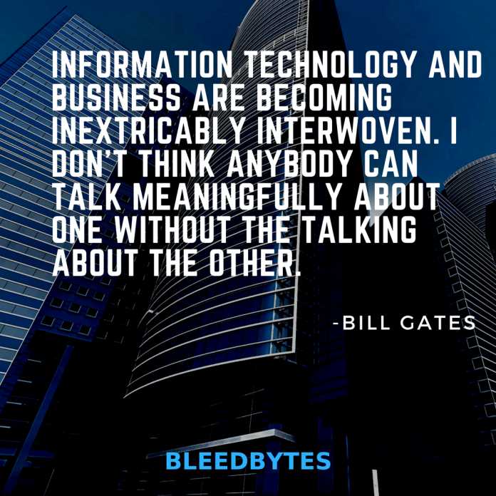 bill gates quotes on business