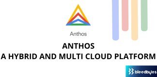 Anthos - a hybrid and multi cloud platform