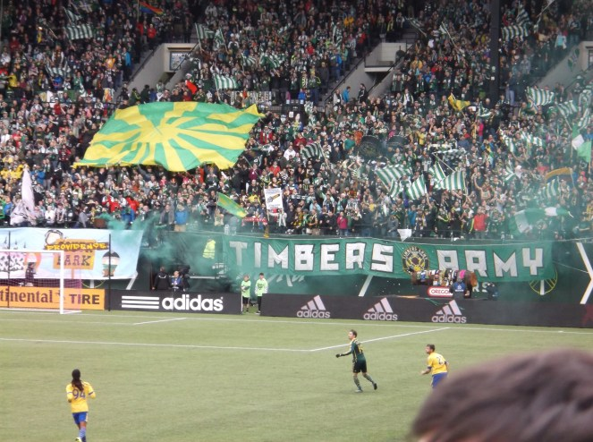 An always active Timbers Army