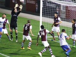 6/14/16 - MacMath with the save against Switchbacks F.C. in U.S. Open Cup action