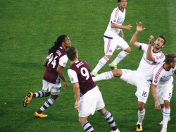 6/18/16 Game action Marlon Hairston & Kevin Doyle against Chicago Fire