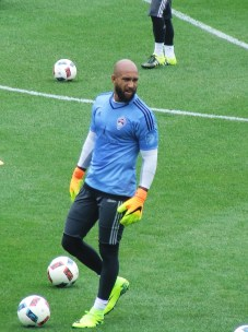 Rapids newest acquisition, keeper Tim Howard
