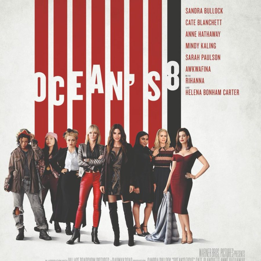 These days, you can't just hand your children the remote and let them choose a channel. Ocean S 8 Final Trailer Poster And The Cast Intros The First Public Screenings