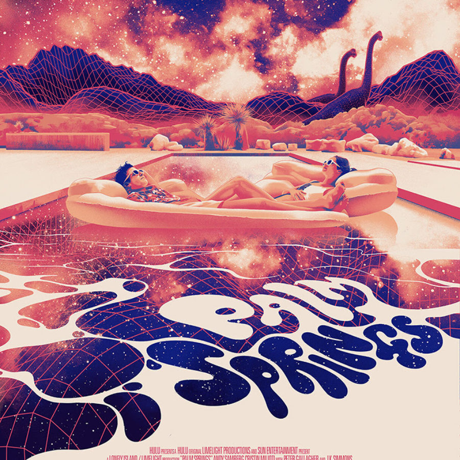 palm springs poster by matt taylor