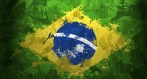 Brazilian flag representation