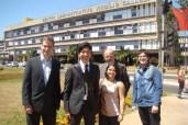 Politriz team in front of Uberlandia City Hall