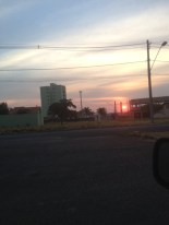 Sunset over Uberlandia