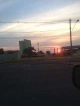 Sunset over Uberlandia