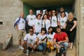 B14 volunteering team