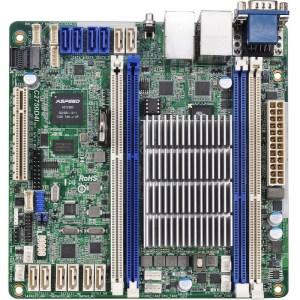ASRock C2750D4I BGA 1283 Intel Avoton C2750 DDR3 Mini ITX Motherboard (C2750D4I)