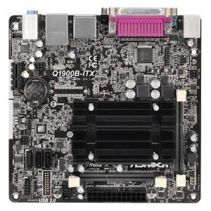 ASRock Q1900B-ITX Integrated CPU Intel Q1900B DDR3 Mini ITX Motherboard (Q1900B-ITX)