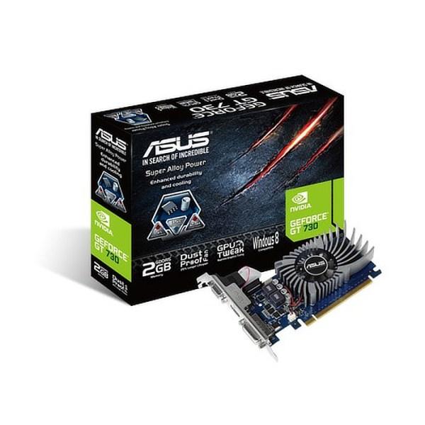 ASUS GeForce GT 730 2 GB GDDR5 Graphics Card (GT730-2GD5-BRK)