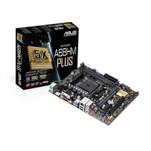 ASUS A68HM-Plus Socket FM2+ AMD A68H DDR3 Micro ATX Motherboard (A68HM-PLUS)