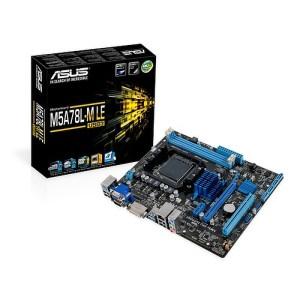 ASUS M5A78L-M LE/USB3 AM3+ AMD 760G DDR3 Micro ATX Motherboard (M5A78L-M LE/USB3)