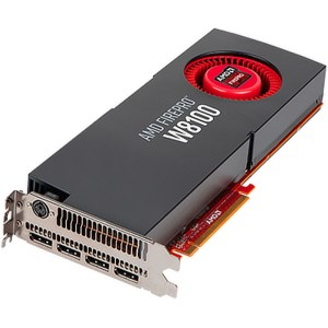 AMD FirePro W8100 8GB GDDR5 Graphics Card (100-505976)