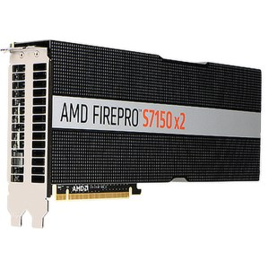 AMD FirePro S7150 x2 16GB GDDR5 Graphics Card (100-505951)