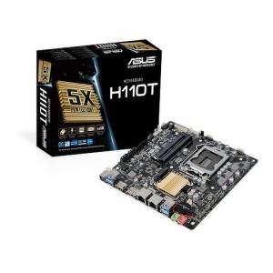 ASUS H110T LGA 1151 Intel H110 DDR4 Mini ITX Motherboard (90MB0Q40-M0EAY0)