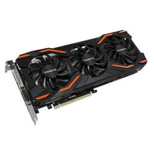 Gigabyte GeForce GTX 1080 Windforce OC 8 GB GDDR5X Graphics Card (GV-N1080WF3OC-8GD)
