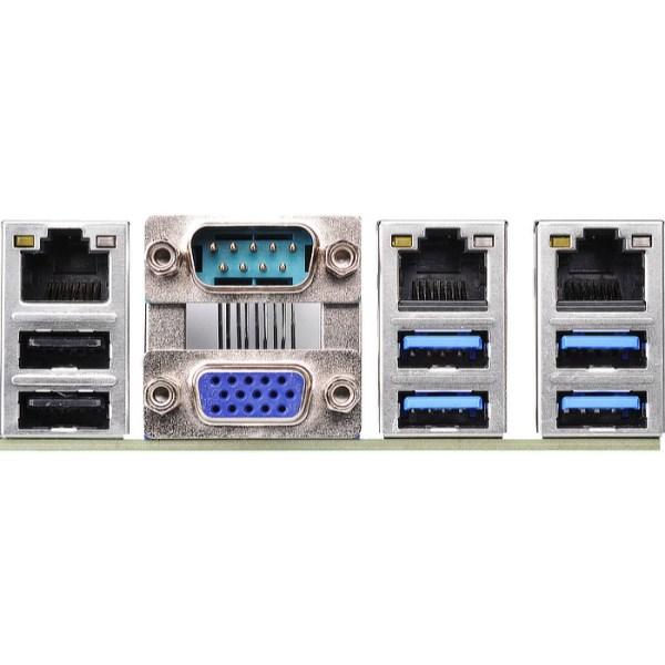 ASRock E3C232D2I LGA 1151 Intel C232 DDR4 Mini ITX Motherboard (E3C232D2I)