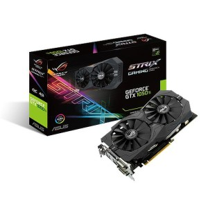 ASUS GeForce GTX 1050 Ti Strix Gaming OC 4 GB GDDR5 Graphics Card (90YV0A30-M0NA00)