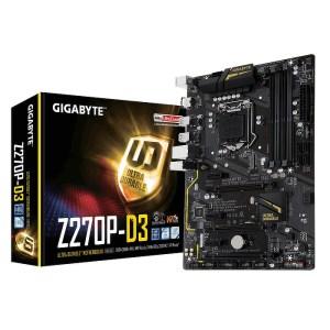 Gigabyte GA-Z270P-D3 LGA 1151 Intel Z270 DDR4 ATX Motherboard (GA-Z270P-D3)