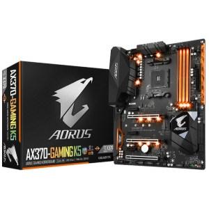 Gigabyte AX370-Gaming K5 Socket AM4 AMD X370 DDR4 ATX Motherboard (GA-AX370-Gaming K5)