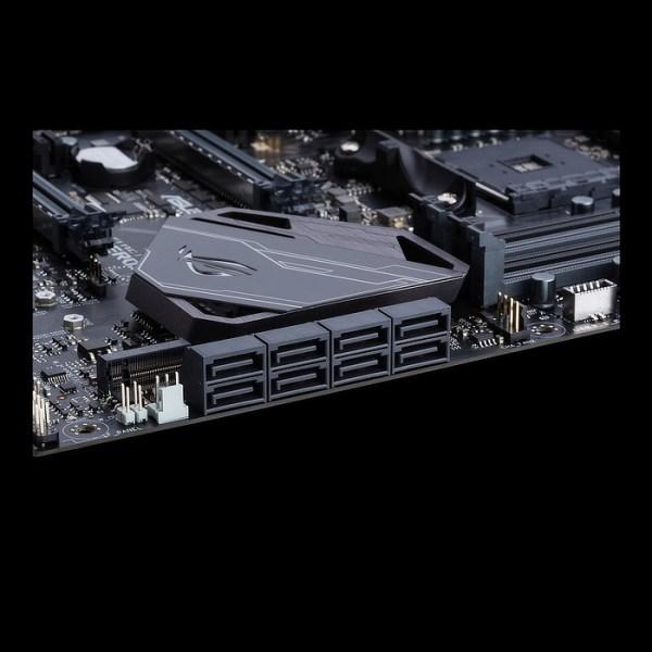 ASUS ROG CROSSHAIR VI HERO (WI-FI AC) Socket AM4 AMD X370 DDR4 ATX Motherboard (90MB0UT0-M0EAY0)