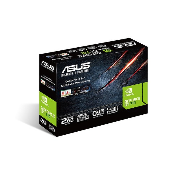 ASUS GeForce GT 710 Silent 2GB GDDR5 Graphics Card (90YV0AL3-M0NA00)