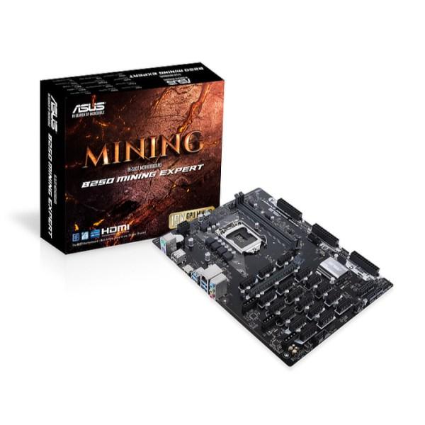 ASUS B250 Mining Expert/CSM LGA 1151 Intel B250 DDR4 ATX Motherboard (90MB0VY0-M0EAYC)